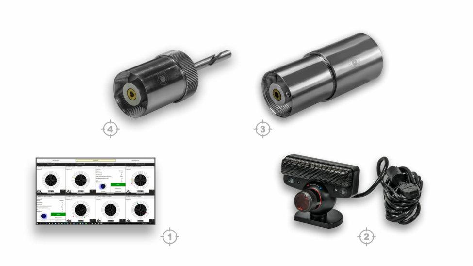 Лазерный тир электронный ⋆ТИР ЭЛЕКТРОН⋆ комплект 10